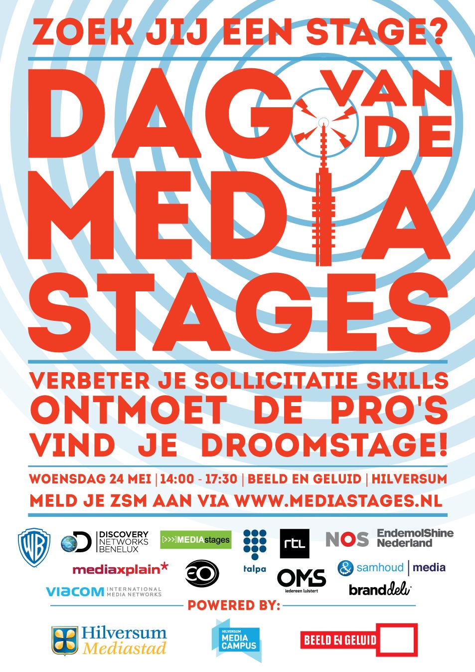 PosterDagvandeMediastages